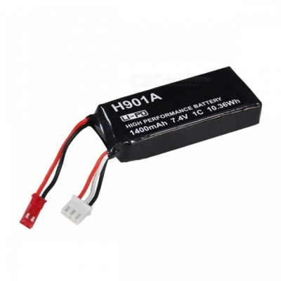 Hubsan H501S-25 7.4V 1400mAh 1C Battery for Hubsan H901A Transmitter