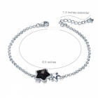 SILVERAGE Real 925 Sterling Silver Star Bracelet