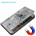 BLCR Voikukka Pattern Magnetic PU Case for Samsung Galaxy S6