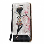 BLCR Girl Pattern Magnetic Case For Samsung Galaxy S6
