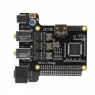 SupTronics X6000 7.1 Channel Expansion Board for Raspberry Pi 3- Black