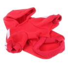 Pet Dog Puppy Hoodie Pullover Sweater Sweatshirt Apparel - Red (L)