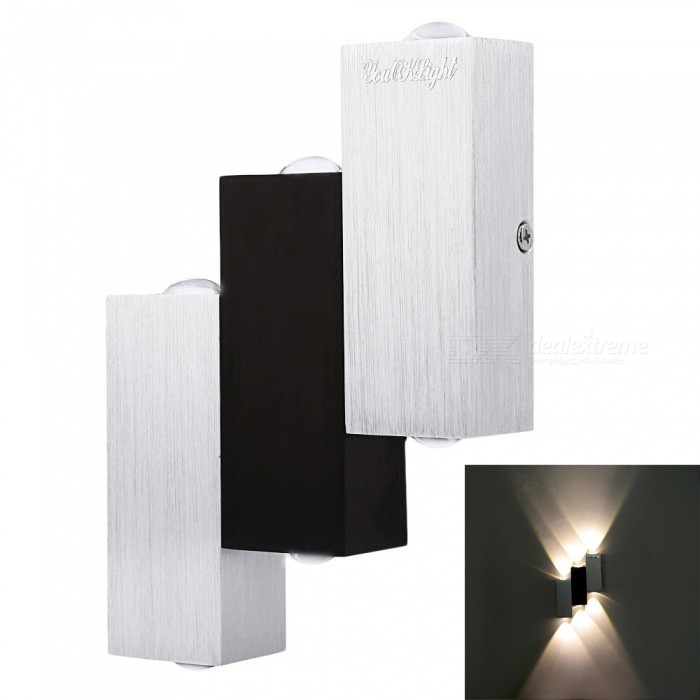 YouOKLight YK2239 6W Ladder Shape LED Wall Lamp - Warm Light
