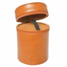 Ismartdigi PU Leather Camera Lens Case Bag for All DSLR Lens - Brown