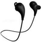 JEDX Mini Wireless Bluetooth v4.1 Stereo In-Ear Headset w/ Mic - Black
