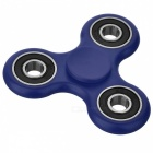 BLCR Tri-Spinner Fidget Toy EDC Hand Spinner for Autism / ADHD - Blue