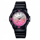 Casio LRW-200H-4EVDF Adult's Sport Watch - Black + Pink