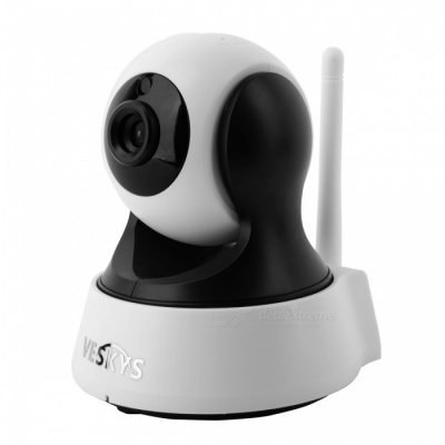VESKYS 720P HD Wi-Fi Security Surveillance IP Camera w/ Night Vision