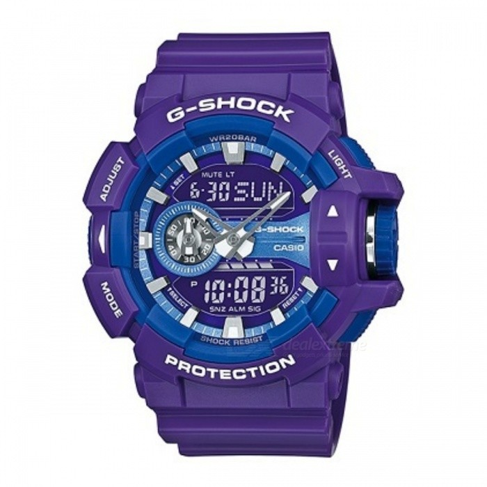 Casio G-SHOCK GA-400A-6ADR - Purple + Blue
