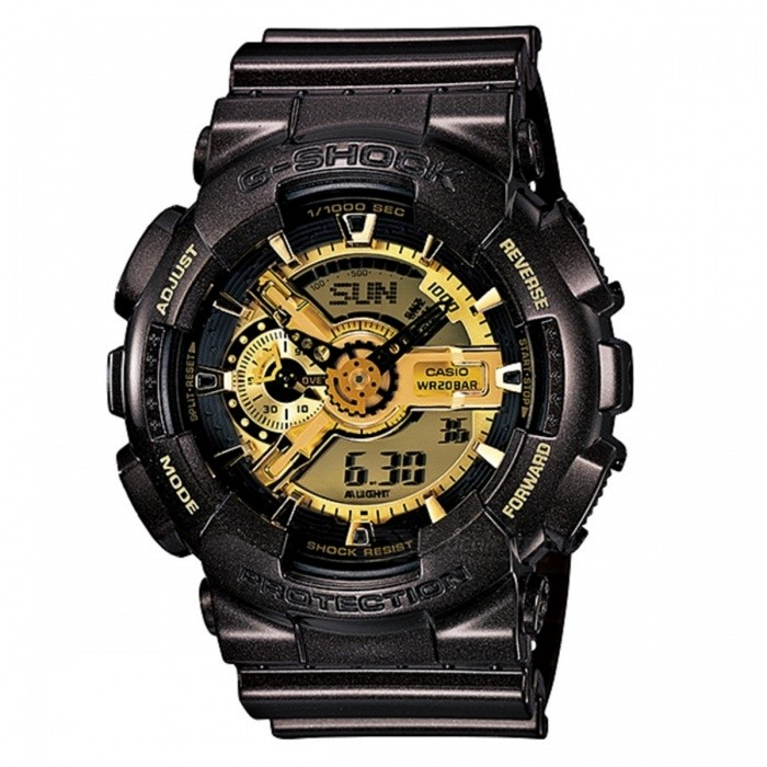 Casio G-SHOCK GA-110BR-5ADR - Black - Golden