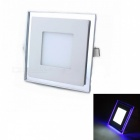 ZHISHUNJIA 14-5630 White LED + 12-2835 Blue LED Dimmable Panel Light