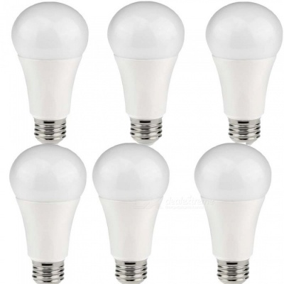 KWB 12W E26 / E27 LED Globe Bulbs Warm White (AC 85~265 V / 6PCS)