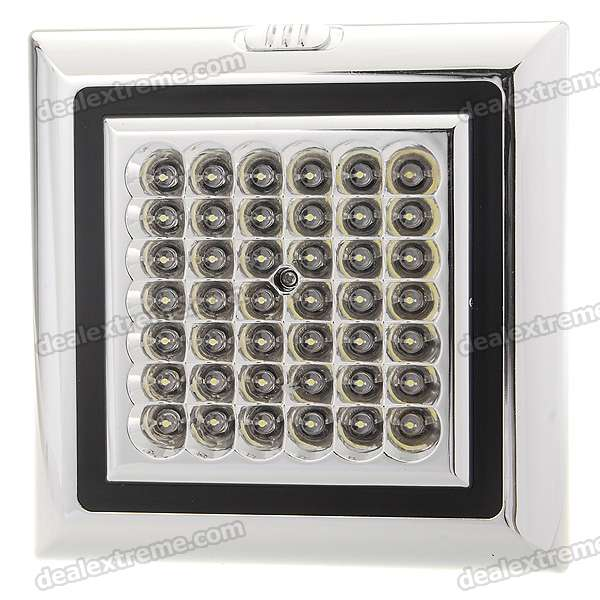 Car White 42-LED Ceiling Dome Light (DC 12V)