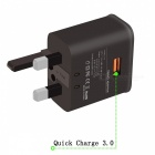 Itian K6 18W Quick Charge 3.0 Type-C Travel Charger Kit - Black