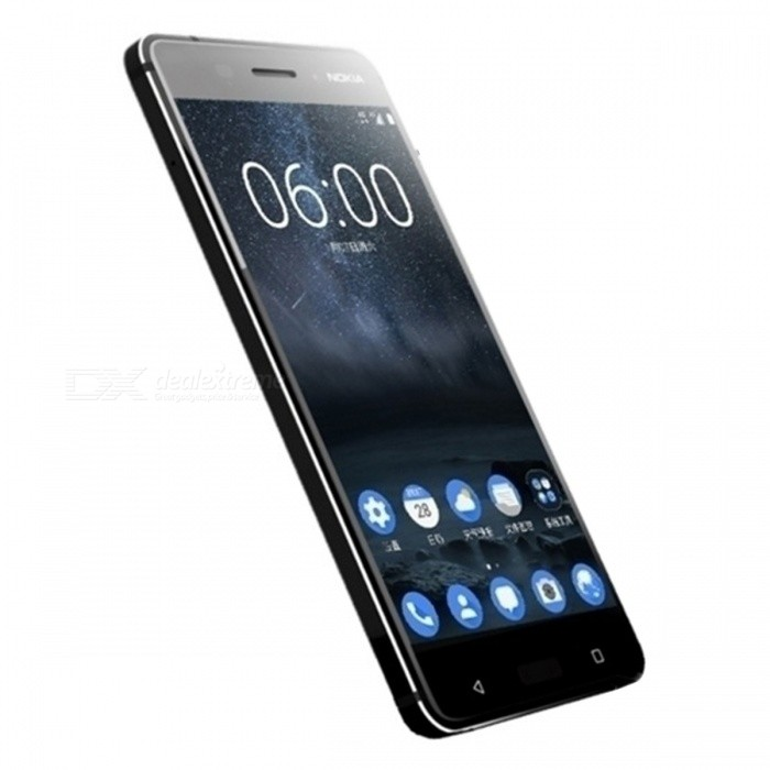 nokia 6 smartphone w dual sim 4gb ram 64gb rom black free shipping dealextreme. Black Bedroom Furniture Sets. Home Design Ideas