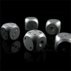 Maikou 5-in-1 Precision Aluminum Alloy Dices Poker Party Game Toys