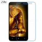Dazzle Colour Tempered Glass Screen Protector for Lenovo A806 (2 PCS)