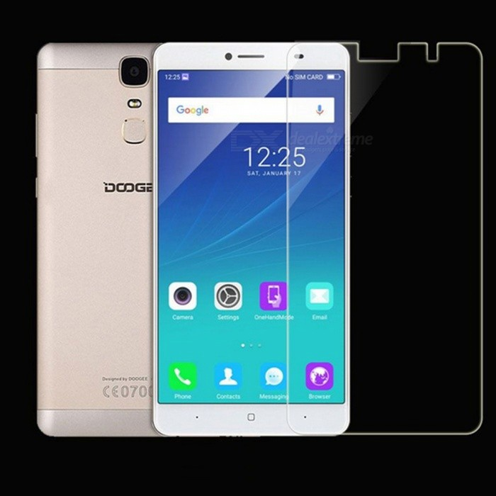 Dazzle Colour Tempered Glass Screen Protector for Doogee Y6 MAX (2PCS)