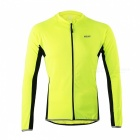 ARSUXEO 6022 Men's Long-Sleeved Cycling Jersey - Green (M)