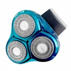 FLYCO FS336 Men's 3D Floating Rechargeable Electric Razor - Blue