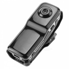 "1 / 1,6"" CMOS 2,0 megapixelu Mini DV videokamery / DVR Video Camera - Black"