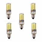 5Pcs YWXLight E11 6000~6500K LED Silicone Lamps for Home, Yard
