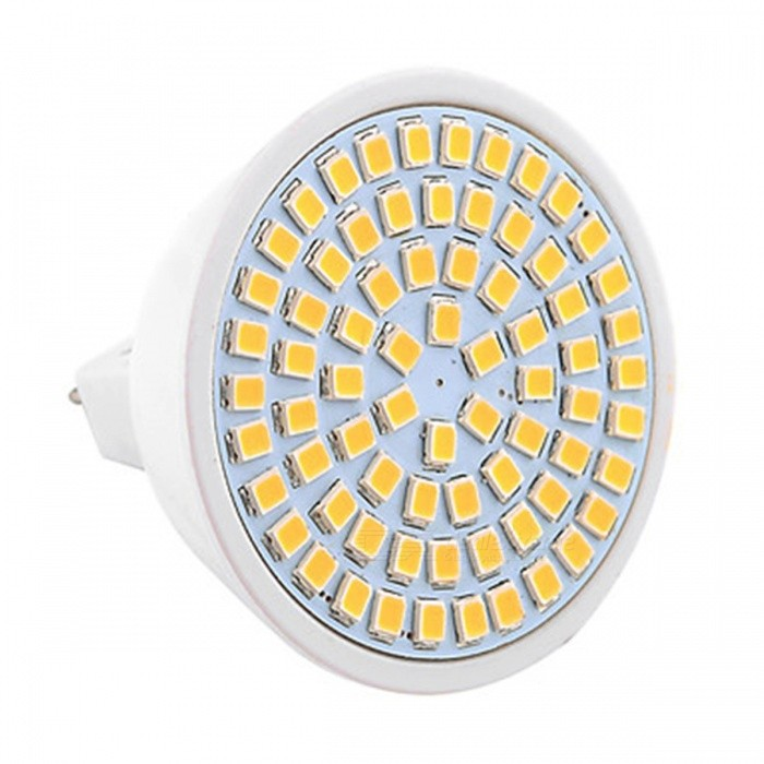 ywxlight MR16 72-SMD 7W 2835 varmvitt LED-strålkastare
