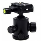 VELEDGE Panoramic Tripod Ball Head w/ 2 Built-in Spirits - Black