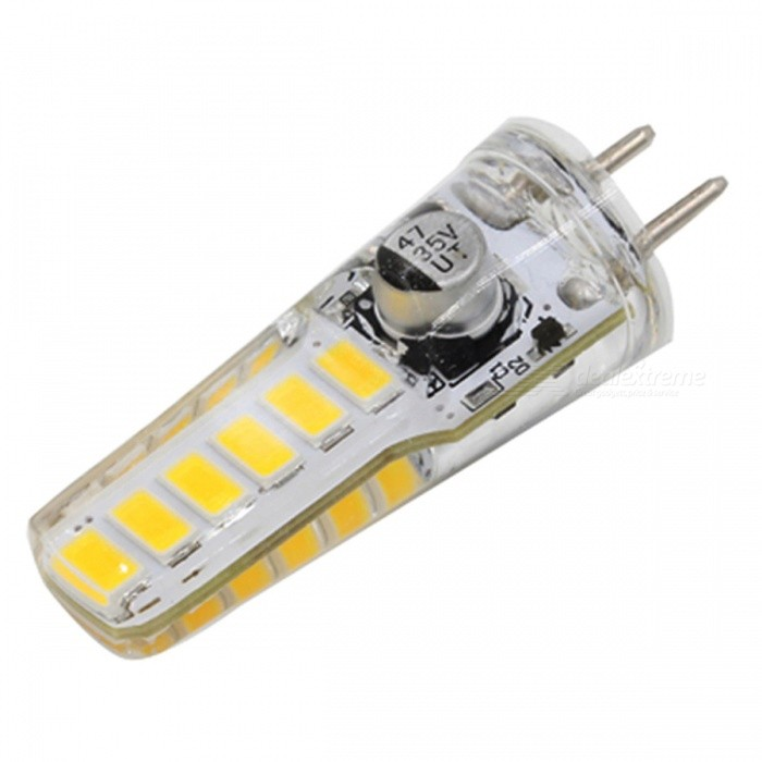 GY6.35 4W 12-5730SMD LED Warm White Light Bulb (DC12~24V)