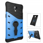 TPU + PC Back Case w/ Holder Stand for Oneplus 3T - Blue + Black