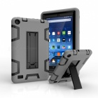 Kickstand Hard PC Soft Silicone Cover for Amazon Kindle Fire 7(2015)