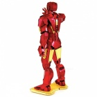 3D Puzzle Building Block Iron Man Model Toy for Kids - Red + Golden