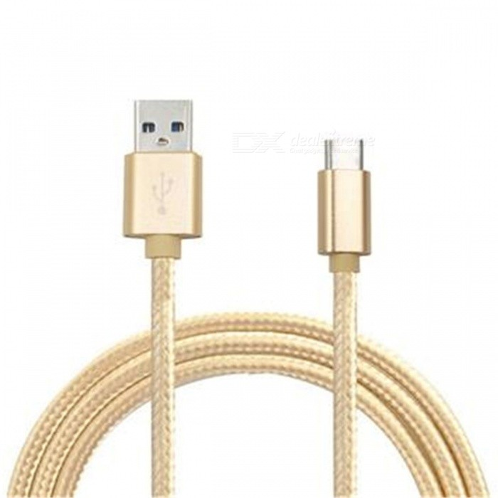 Type-C Charging Data Cable for Samsung Galaxy S8 / S8 Plus - GoldenCables<br>Form  ColorGoldenMaterialABSQuantity1 DX.PCM.Model.AttributeModel.UnitCompatible ModelsSamsung Galaxy S8 / S8 PlusCable Length100 DX.PCM.Model.AttributeModel.UnitConnectorUSB Type-C 3.1Packing List1 x Cable<br>