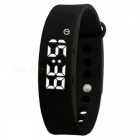 DMDG Smart Wrist Watch Wristband Bracelet w/ 3D Pedometer - Black
