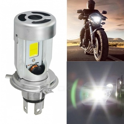 Jiawen 20W 2000lm H4 Plug LED Motorcycle Headlight Bulb (DC 6~60V)