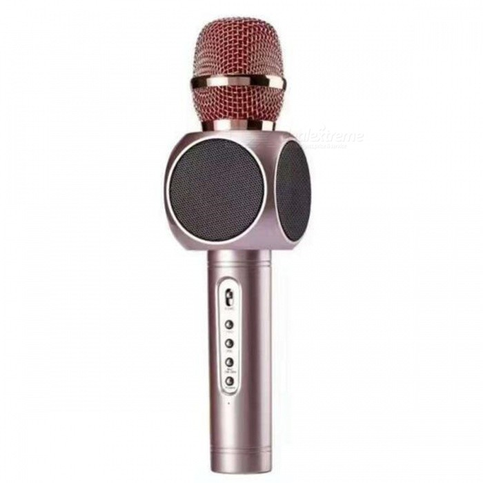 E103 Wireless Bluetooth Dual Speaker Stereo Microphone - Rose Gold
