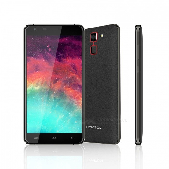 homtom ht30 5 5 hd android 6 0 3g phone w 1gb ram 8gb rom black free shipping dealextreme. Black Bedroom Furniture Sets. Home Design Ideas