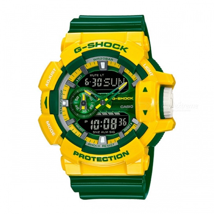 Casio G-Shock GA-400CS-9ADR -Žlutá + Green