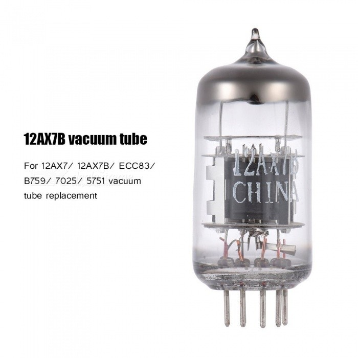 High Quality 12AX7B 9-pin Dual Triode Preamp Electron Vacuum Tube