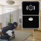 eBELL Smart Wi-Fi HD Video Doorbell Camera w/ Indoor Chime - Black