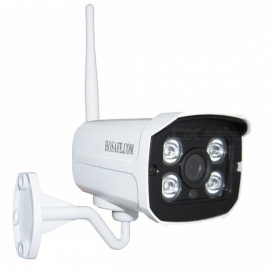 HOSAFE H2MB1W 1080P Outdoor Wi-Fi Wireless IP Security Camera - White