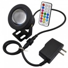 KWB 10W Color Changing Outdoor RGB LED Security Flood Light - Black