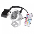 KWB 10W Color Changing RGB LED Security Flood Light - Grey White