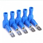 QooK Insulated Wire Cable Connector Terminal Male / Female Kit - Blue