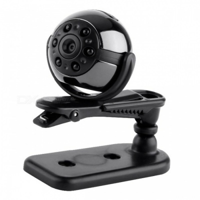 SQ9 360 Degree Rotation Round Shape Mini DV Hidden Camera