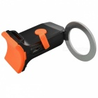 INBIKE TX126 5-Mode rund LED Bike Bakljus - Svart + Orange