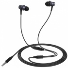 Xiaomi Piston Style 3.5mm Wired Earbud Earphone w/ Microphone - Black