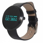 V06 Bluetooth Sport Smart Touch Screen Wristband Bracelet - Black