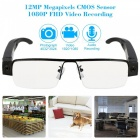 12.0MP 1080P Mini  Eyewear Security Surveillance Camera w/ TF Slot