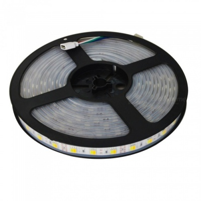 JIAWEN 5m 300-5050SMD 2700-6500K LED Strip Light, US Plugs(AC100~240V)